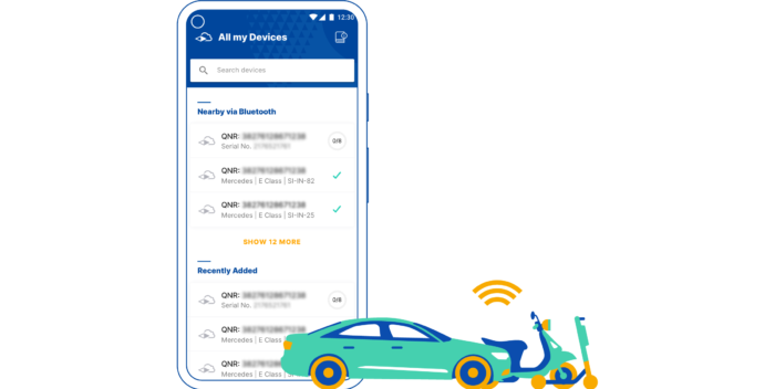 INVERS SmartControl App for seamless vehicle set up