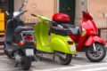 discontinued moped sharing