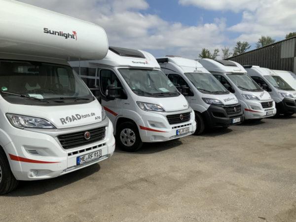 Roadfans campervans sharing station